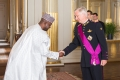 Nigéria-1 Amb. Inusa with His Royal Majesty Philippe I, King of the Belgians